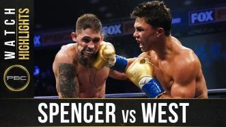 Spencer vs West - Watch Fight Highlights | August 22, 2020