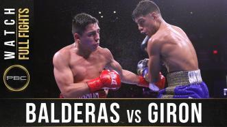 Balderas vs Giron - Watch Full Fight | December 21, 2019