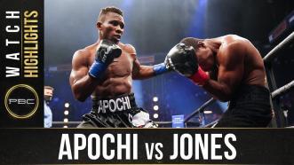 Apochi vs Jones - Watch Fight Highlights | November 14, 2020