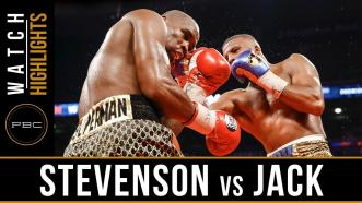 Stevenson vs Jack Highlights: May 19, 2018 - PBC on Showtime