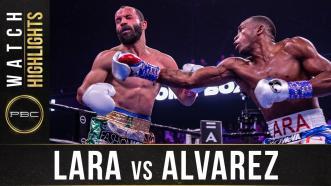 Lara vs Alvarez - Watch Fight Highlights | August 31, 2019