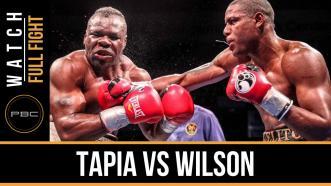 Tapia vs Wilson full fight: December 8, 2015