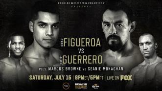 Figueroa vs Guerrero PREVIEW: PBC on FOX - July 15, 2017
