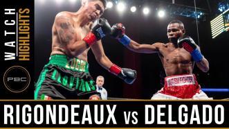 Rigondeuax vs Delgado - Watch Video Highlights | January 13, 2019