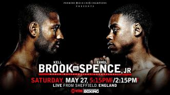 Errol Spence out to build his legacy vs. Kell Brook