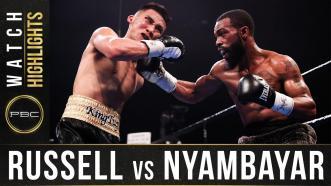 Russell vs Nyambayar - Watch Fight Highlights | February 8, 2020
