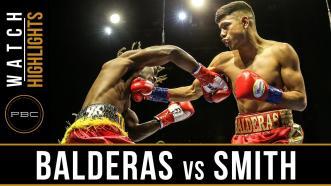Balderas vs Smith Highlights: April 9, 2017 - PBC on FS1