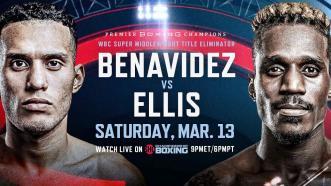 Benavidez vs Ellis PREVIEW: March 13, 2021