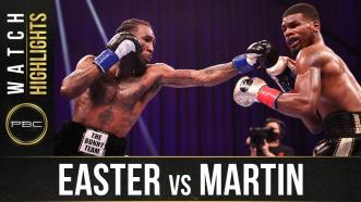 Easter vs Martin - Watch Fight Highlights | February 20, 2021