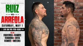 Andy Ruiz Jr. and Chris Arreola Chronicle Their Sparring Session From 15 Year Ago