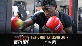 Erickson Lubin Sends a Strong Message to the 154-lb Division