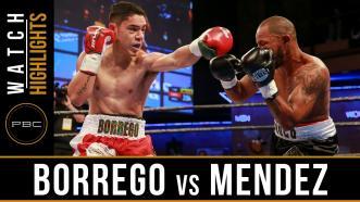 Borrego vs Mendez highlights: February 2, 2017