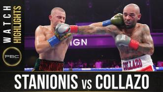 Stanionis vs Collazo HIGHLIGHTS: August 7, 2021 | PBC on FOX