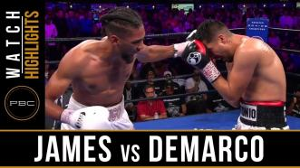 James vs DeMarco - Watch Fight Highlights | July 13, 2019