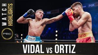 Vidal vs Ortiz - Watch Fight Highlights | November 14, 2020