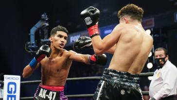 Barrientes vs Ibarra - Watch Fight Highlights | October 3, 2020