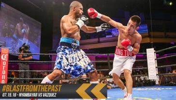 Blast from the Past: Nyambayar RD1 KO of Vazquez