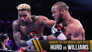 May Moment Of The Month: Hurd vs Williams