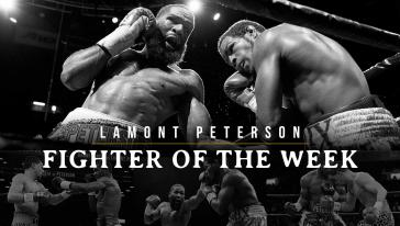 Fighter of the Week - Lamont Peterson