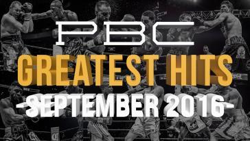PBC Greatest Hits: September 2016