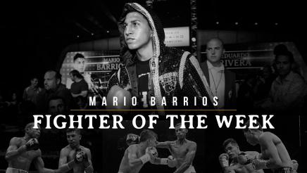 Fighter of the Week: Mario Barrios