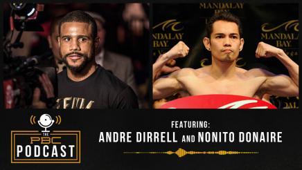 Nonito Donaire & Andre Dirrell Drop Gems | The PBC Podcast