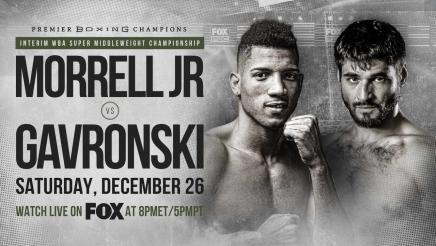 Morrell Jr. vs Gavronski PREVIEW: December 26, 2020