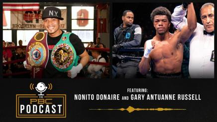 Nonito Donaire, Gary Antuanne Russell and Another Triple-Header