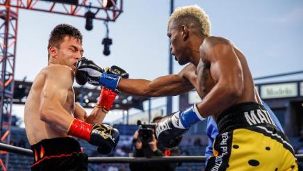 Matias vs Jukembayev - Watch Fight Highlights   May 29, 2021