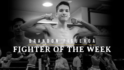 Fighter of the Week: Brandon Figueroa