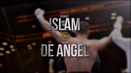 Islam vs De Angel preview: May 8, 2016
