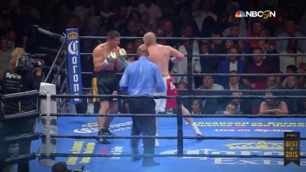 PBC Best of 2015: Knockout of the Year - O'Connor vs Bracero