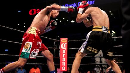 Barrios vs Boschiero full fight: July 9, 2016