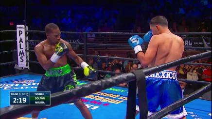 Dolton vs Molina full fight: September 29, 2015
