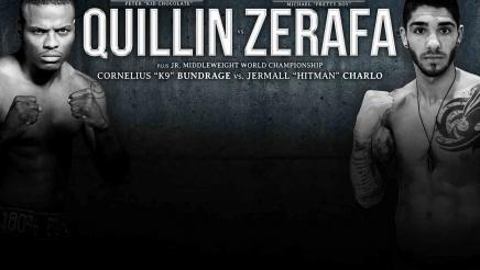 Quillin vs Zerafa and Bundrage vs Charlo preview: September 12, 2015