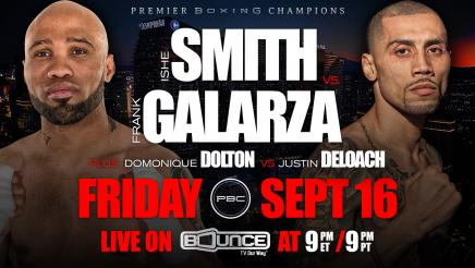 Smith vs Galarza Preview: September 16, 2016