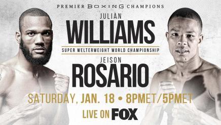 Williams vs Rosario PREVIEW: January 18, 2020 | PBC on FOX
