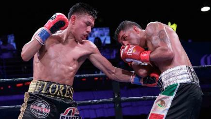 Flores vs Briones full fight: January 12, 2016