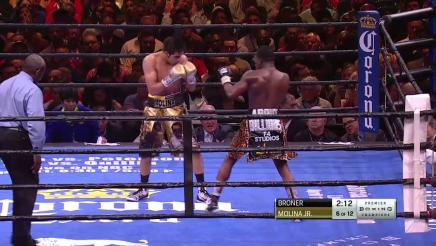 Broner vs Molina full fight: March 7, 2015
