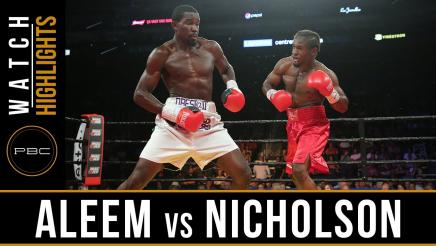 Aleem vs Nicholson highlights: July 29, 2016