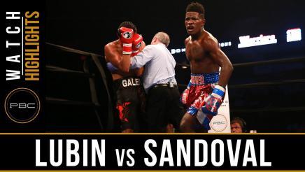 Lubin vs Sandoval highlights: June 18, 2016