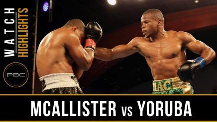 McAllister vs Yoruba Highlights: July 12, 2016