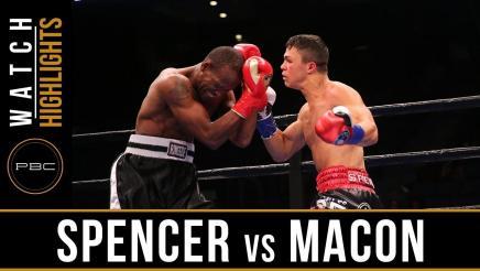 Spencer vs Macon - Watch Video Highlights | September 30, 2018