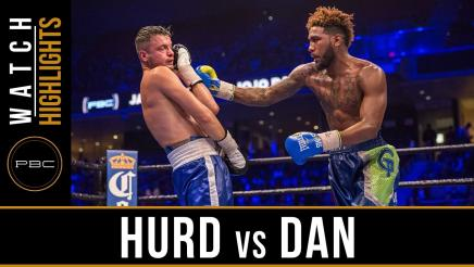 Hurd vs Dan highlights: November  12, 2016