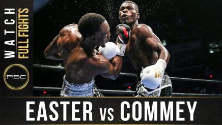 Easter vs Commey full fight: September 9, 2016