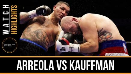 Arreola vs Kauffman highlights: December 12, 2015