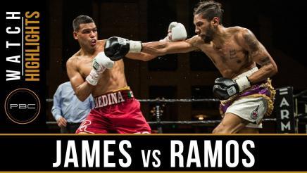 James vs Ramos Highlights: April 13, 2018 - PBC on FS1
