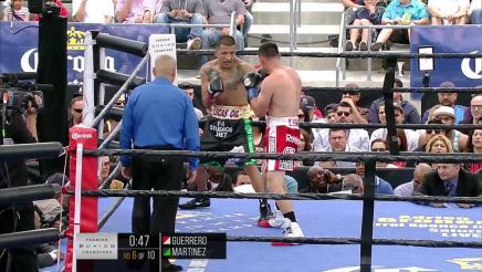 Guerrero vs Martinez full fight: June 6, 2015