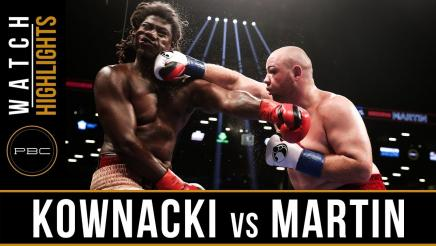 Kownacki vs Martin - Watch Video Highlights | September 8, 2018