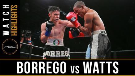 Borrego vs Watts highlights: June 11, 2017